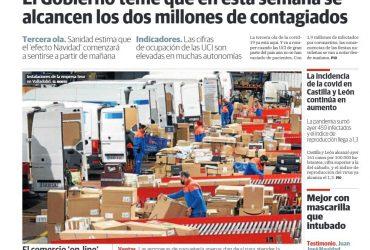 'Cifras de récord para las empresas de reparto'